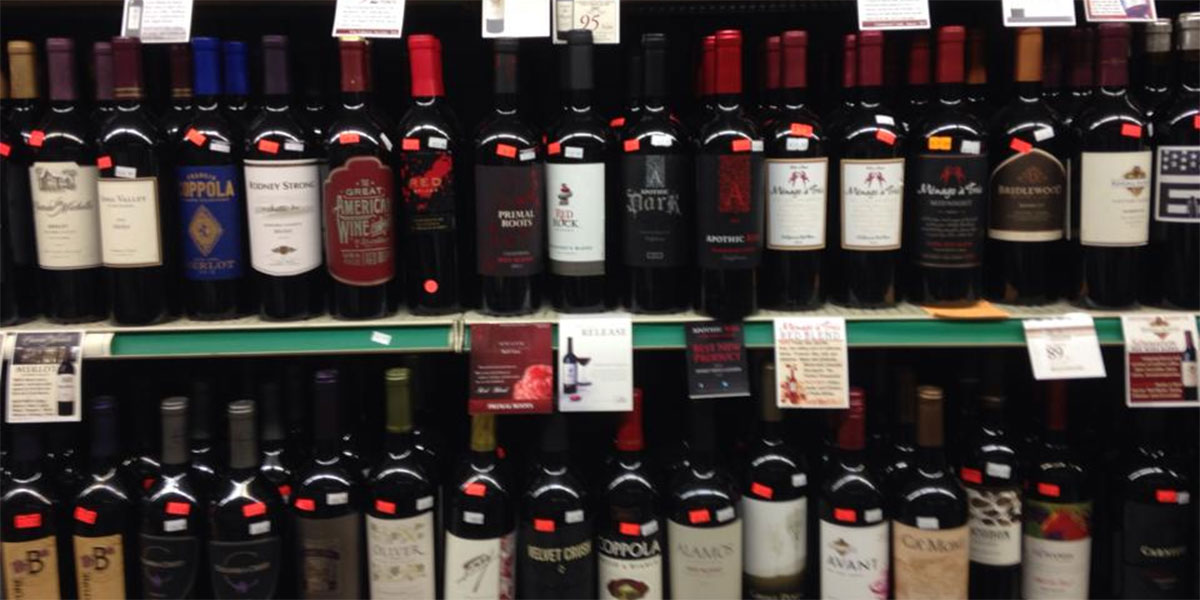 bill and carols wine selection