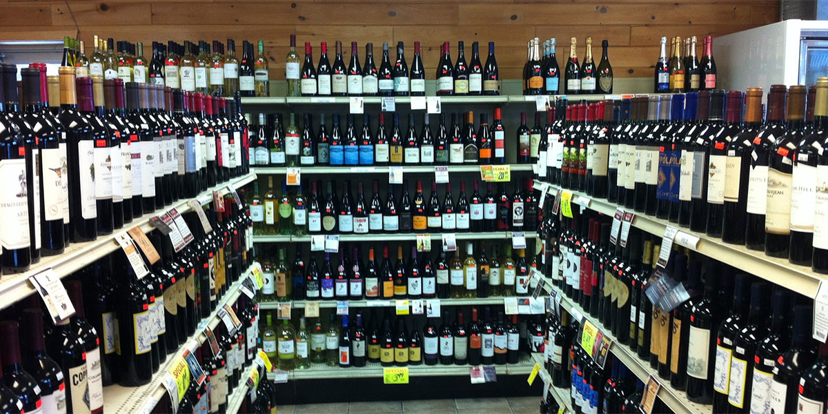 scoobys bottle shop wine selection